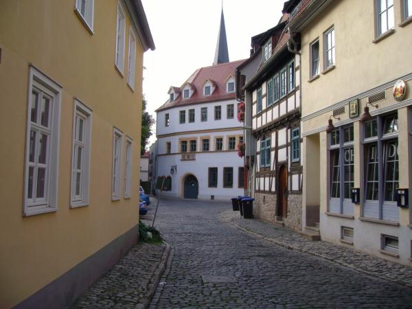 Schildgasse/Hütergasse 4 in der historischen Altstadt von Erfurt